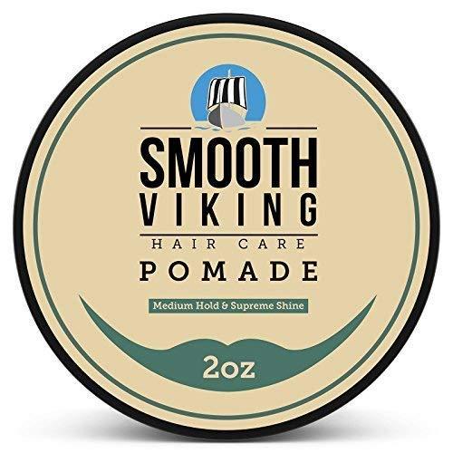 Smooth Viking Hair Care Pomade (Medium hold & Supreme Shine)