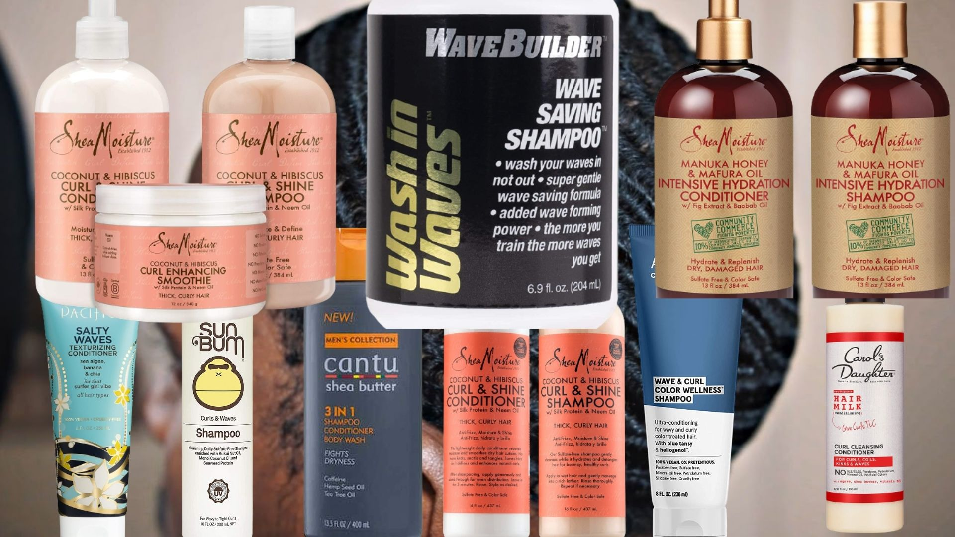 Best Shampoo and Conditioner for 360 Waves